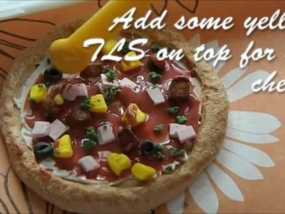 Pizza - Polymer Clay Tutorial