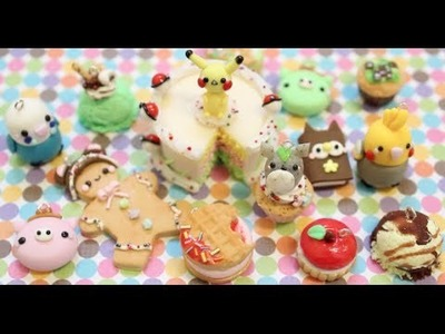 Polymer Clay Charm Update #22 (Sweets, Animals, & More!)