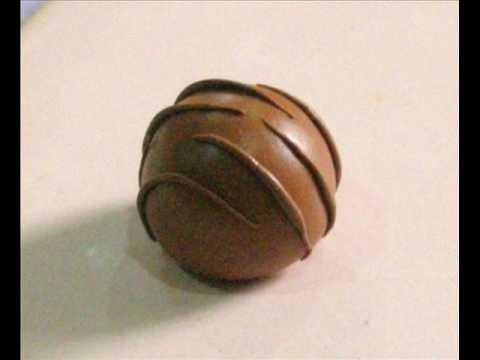 Polymer Clay Chocolate Truffle Tutorial