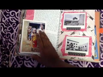 Smash Book Travel Journal - Ghana