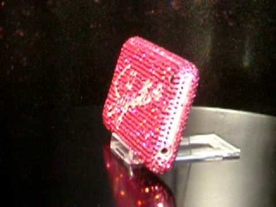 The stunning Swarovski crystal encrusted Apple iPhone 'Signature' by badabling