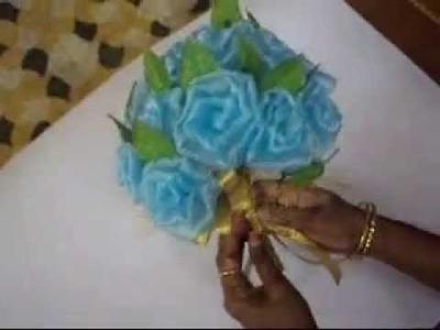 Tissue Rose Bouquet part 2