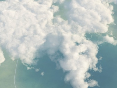 Vue Tutorial : How To Make Realistic Clouds