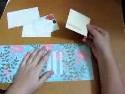 Waterfall card tutorial