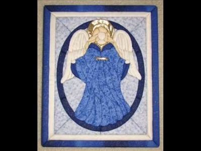 Angel Wings - No Sew Wall Quilt