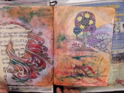 Art Journal Tutorial _ small things