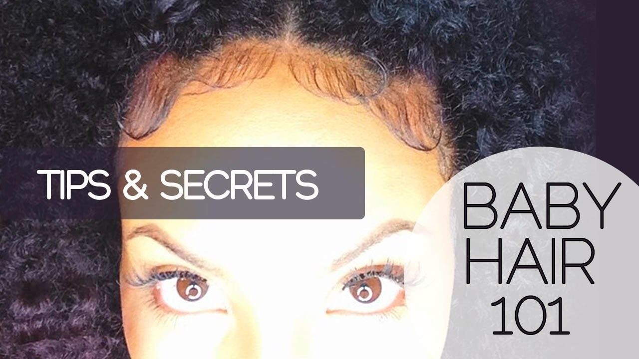 Baby Hair 101 | How to Slick & Lay Edges