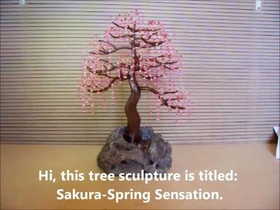 Bonsai Tree Sculpture #75 by Jim Shull