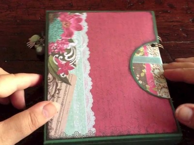 Cinch mini album in a box + some of my favorite tools