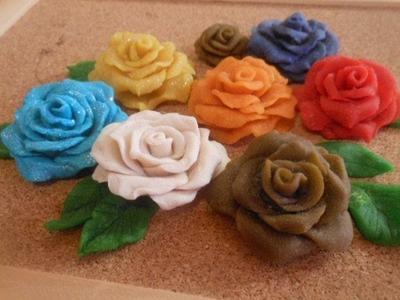D.I.Y Flower. Polymer ROSE
