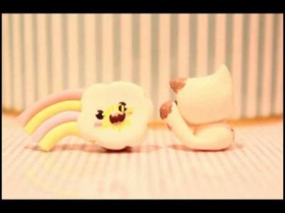 ◕‿◕ Mustache! Kawaii Friday 40 (Tutorial in Polymer Clay)