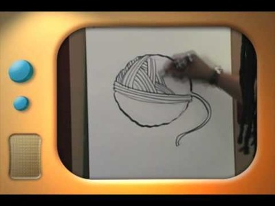 Hal and Al Drawing Segment-Ball Of Yarn