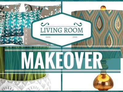 HOME DECOR Living Room Decorating Tips.Makeover