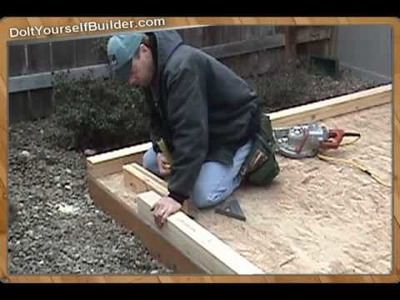 """How The Pros Build A Shed"" Sample- 2 of 6 ""Framing Walls"""