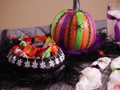 How-to Create Spooktacular Halloween Decor with Hair-Raising Holiday Trims