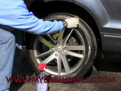 HOW TO DETAIL YOUR WHEELS USING NO CHEMICALS