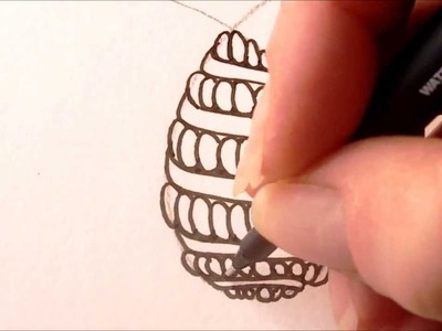 How to draw tanglepattern Purk