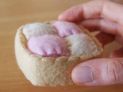 How to Make a Cute Battenberg Cake Plushie