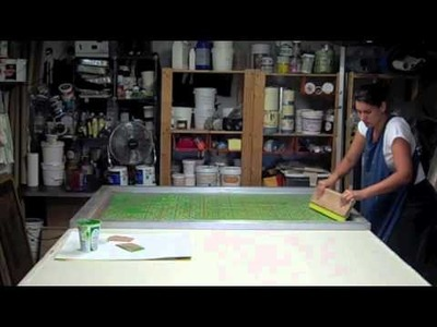 How to print fabric by Valentine Viannay-Video 1(edited version)