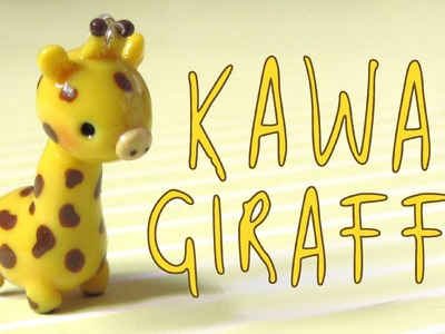 Kawaii Giraffe Charm Tutorial - Polymer Clay How-To.