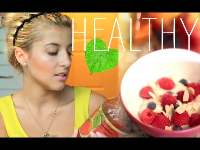 My Healthy Snacks & Eating Tips {Recipes}
