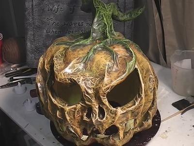 Paper Mache Pumpkins- 1 - Introduction and Materials