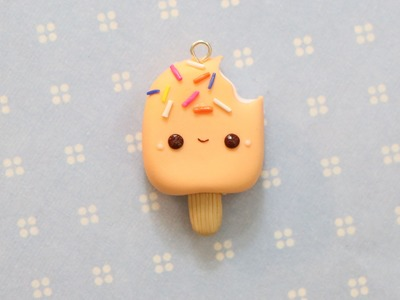 Polymer Clay Popsicle Charm Tutorial