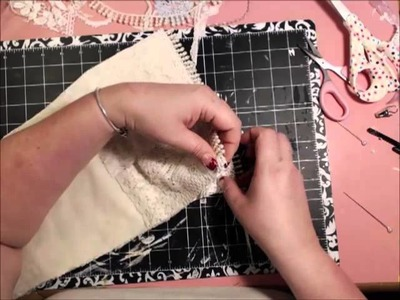 Shabby Chic Christmas Stocking Tutorial