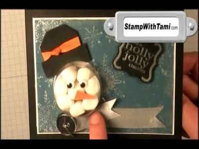 Sweet Treat Cup Marshmallow Snowman by Tami White