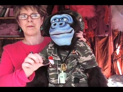 VENTRILOQUISM-How To Make Your Puppet Fit You pt 2