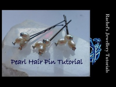A Wire Wrap Tutorial  - Hair Pins! by Wire Guild