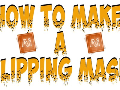 Adobe Illustrator CS5 Tutorial: How to Make A Clipping Mask