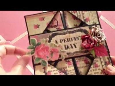 Card Share - 3 Ways Napkin Fold Card