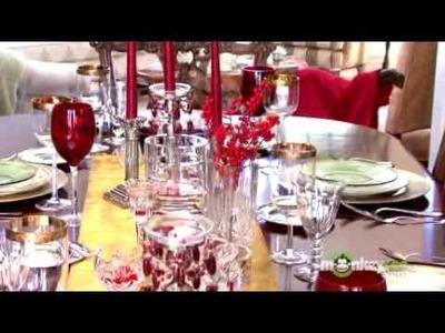 Christmas - Setting a Holiday Table