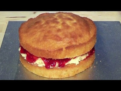 Christmas Sponge Cake How to Make Easy Video Recipe Christmas