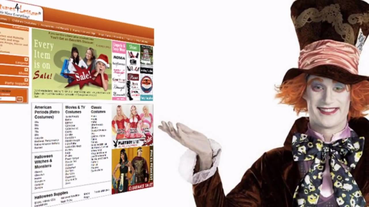 Costumes4less.com Halloween Costumes - Adult, Kids & Teens Halloween Party Costumes & Accessories
