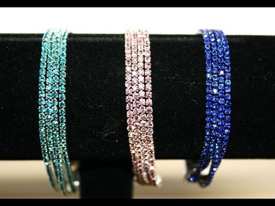 Diamante crystal bracelet