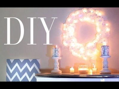 ❄DIY Doily Christmas Wreath❄