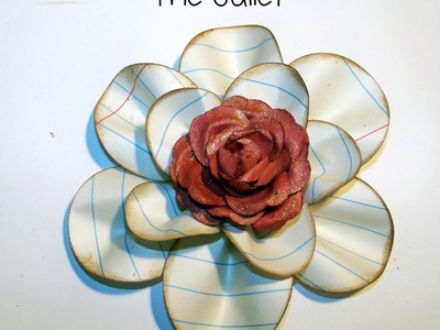 Flower Friday - Paper Flower Tutorial - The Juliet
