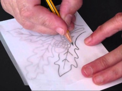 From Little Acorns - Tracing & Transferring -  Decorative Painting for Beginners