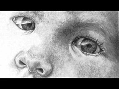 Graphite Portrait Drawing