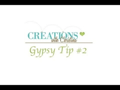 Gypsy Tip #2 Welding and Shadows