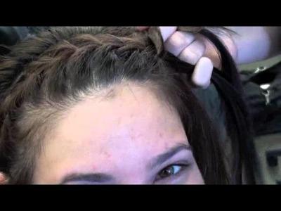 Hairstyle: Headband braid