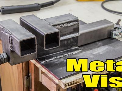Having Some Fun Making A Metal vise - 193
