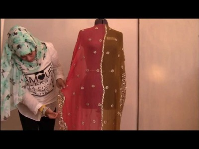 How To Make A Kaftan - Salma Rauf