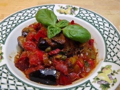 How to make Caponata - Recipe by Laura Vitale - Laura in The Kitchen Episode 62