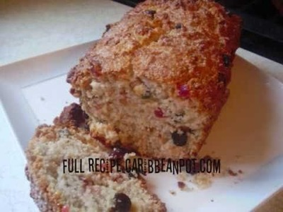 How to make Coconut Sweet Bread. wmv