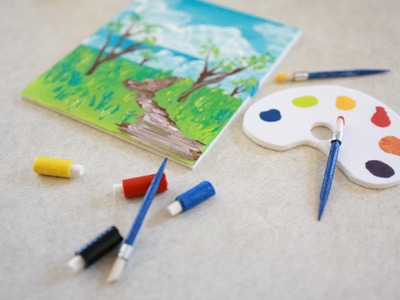 How to Make Doll Art Supplies