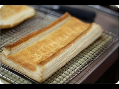 How to make the Most Perfect Puff Pastry - Pate Feuilletee Recipe