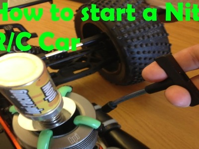 How to start a Nitro R.C Car easily and quickly!
